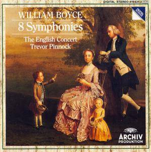 Cover - William Boyce: 8 Symphonies