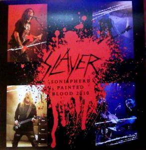 Slayer: Sonisphere Painted Blood 2010 - Cover