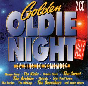 Golden Oldie Night 1/95 - Cover