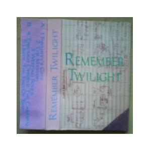 Cover - Remember Twilight: Remember Twilight