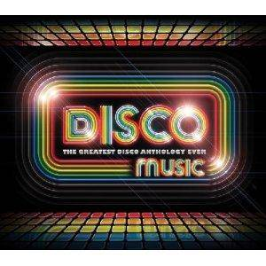 Disco Music: The Greatest Disco Anthology Ever! - Cover