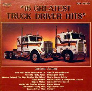 Cover - Del Reeves: 16 Greatest Truck Driver Hits