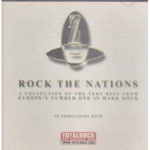 Cover - Burning Rain: Rock The Nations
