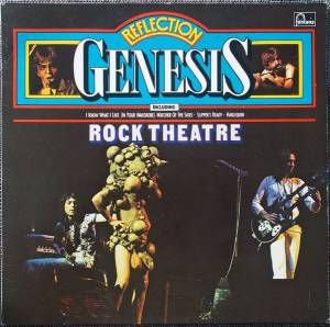 Genesis: Rock Theatre - Cover