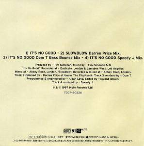 Depeche Mode: It's No Good (Single-CD) - Bild 2