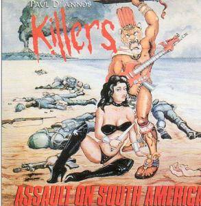 Cover - Killers: Assault On South America