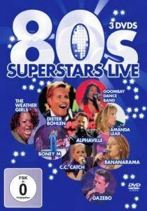 Cover - Mauro: 80s Superstars Live