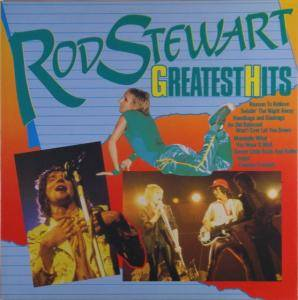Rod Stewart: Greatest Hits (Superstar) - Cover