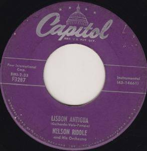 Cover - Nelson Riddle Orchestra: Lisbon Antigua