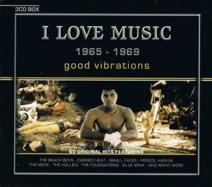 I Love Music 1965 - 1969 Good Vibrations - Cover