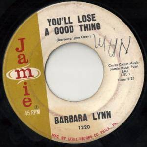 Cover - Barbara Lynn: You'll Lose A Good Thing