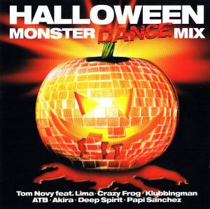 Cover - Visior & Dark Moon: Halloween Monster Dance Mix