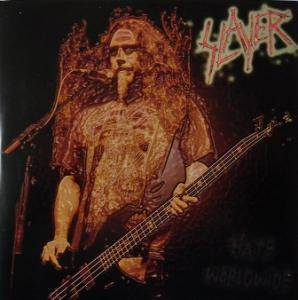 Slayer: Hate Worldwide - Cover