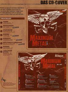 Metal Hammer - Maximum Metal Vol. 174 (CD) - Bild 5