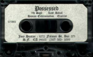 Cover - Possessed: Possessed