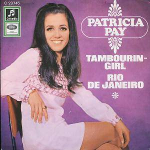 Cover - Patricia Paay: Tambourin-Girl