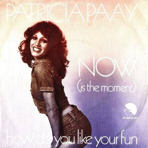 Cover - Patricia Paay: Now (Is The Moment)