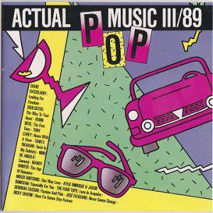 Cover - Kylie Minogue & Jason Donovan: Actual Pop Music III/89
