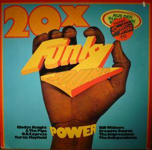 Cover - Soul Searchers, The: 20 X Funky Sound Power