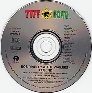 bob marley cd legend