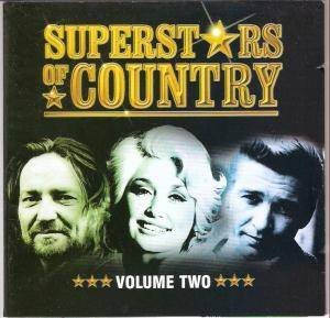Superstars Of Country - Volume Two - Cover
