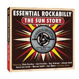 Cover - Ray Harris: Essential Rockabilly The Sun Story