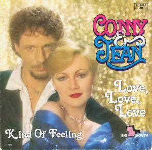 Cover - Conny & Jean: Love, Love, Love