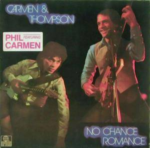 Cover - Carmen & Thompson: No Chance Romance
