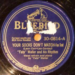 Cover - Fats Waller: Your Socks Don't Match