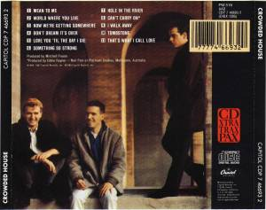 Crowded House: Crowded House (CD) - Bild 2