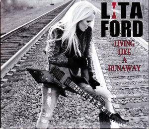 Cover - Lita Ford: Living Like A Runaway