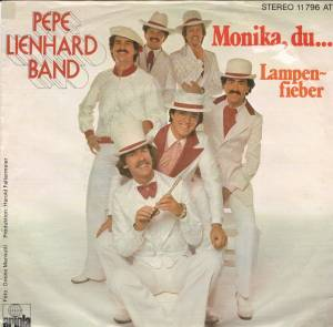 Cover - Pepe Lienhard Band: Monika, Du...