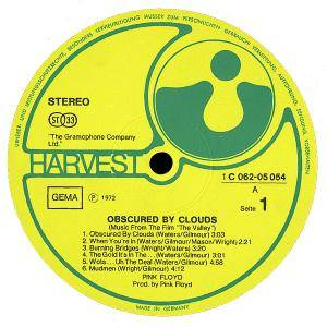 Pink Floyd: Obscured By Clouds (LP) - Bild 3