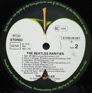 "The Beatles: ""Rarities"" (LP) - Bild 4"