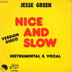 Jesse Green: Nice And Slow - Cover