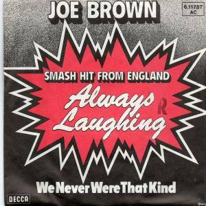 Cover - Joe Brown: Always Laughing