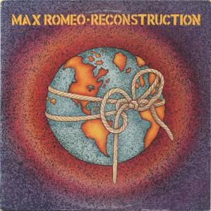Max Romeo: Reconstruction - Cover