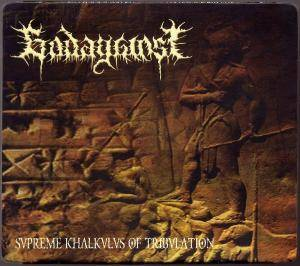 Godagainst: Supreme Khalkulus Of Tribulation - Cover