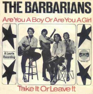 Cover - Barbarians, The: Are You A Boy Or Are You A Girl