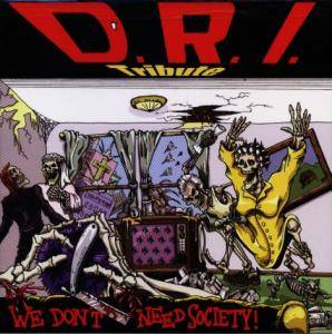 Cover - Electric Frankenstein: D.R.I. Tribute: We Don't Need Society