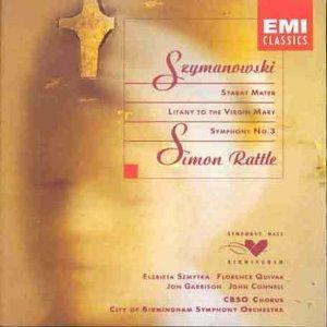 Karol Szymanowski: Stabat Mater - Litany Of The Virgin Mary - Symphony No. 3 - Cover