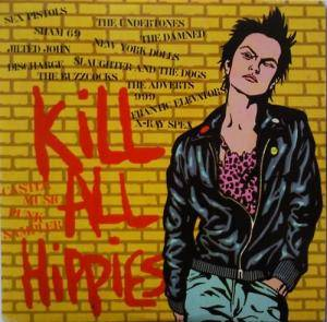 Kill All Hippies - Castle Music Punk Sampler - Cover