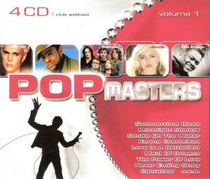Pop Masters - Volume 1 - Cover