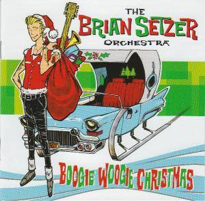 Cover - Brian Setzer Orchestra, The: Boogie Woogie Christmas
