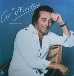 Cover - Al Martino: Sing My Love Songs