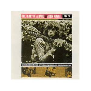 John Mayall: Diary Of A Band: Volume One, The - Cover
