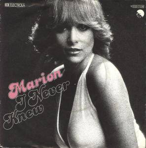 Cover - Marion: I Never Knew