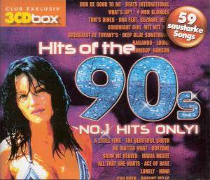 Hits Of The 90s - No.1 Hits Only! - Cover