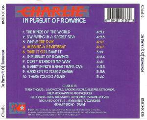 Charlie: In Pursuit Of Romance (CD) - Bild 2