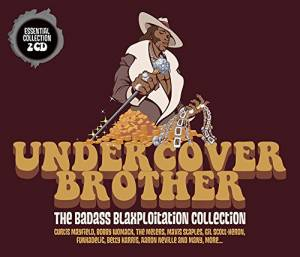 Undercover Brother-The Badass Blaxploitation Collection - Cover